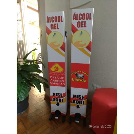 Totem para Álccol em Gel com Pedal FRIP Brinquedos
