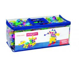 Sacola Plug Kids com 1.000 peças