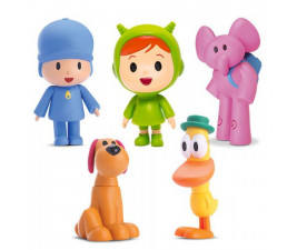 Kit com 5 Bonecos Turma Pocoyo Cardoso Toys