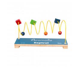 Aramado Infantil Espiral Educativo Carlu Brinquedos