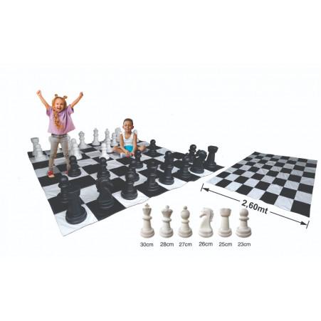 Jogo de Xadrez Mega Gigante Central Pedagógica