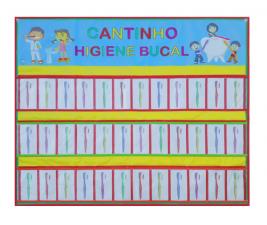 Cantinho Higiene Bucal com 36 bolos