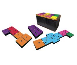 Jogo Domino Tradicional Colorido