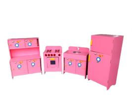 Kit Cozinha com 4 peças