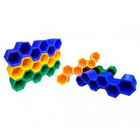 Sapateira Colmeia de Plástico com 6 Casulos