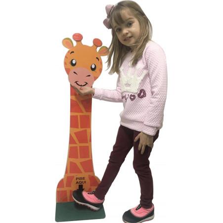 Totem para Álcool em Gel Girafinha Infantil Ciabrink