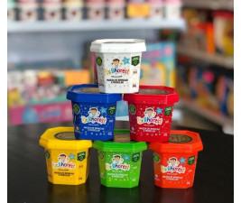 Massinha de Brincar e Modelar Dr. Bhorest - Kit com 6 cores