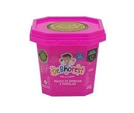 Massinha de Brincar e Modelar Pink Dr. Bhorest