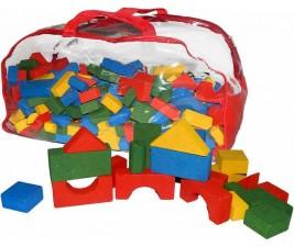 Sacolão Blocos de Construção com 500 peças