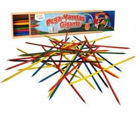 Jogo Pega Varetas Gigante com 31 peças