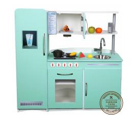 Cozinha Infantil Retrô Verde Fashion Toys