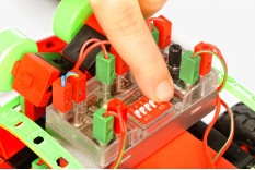 Kit Educacional Ensino Médio Robotica Mini Bots 4