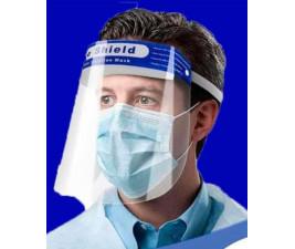 Máscara de Proteção Face Shield - Kit com 10 unidades