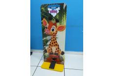 Totem Álcool em Gel Infantil Girafa FRIP Brinquedos OB