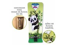 Totem Dispenser Álcool em Gel Infantil Panda