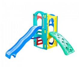 Playground Super com Escalada Mundo Azul