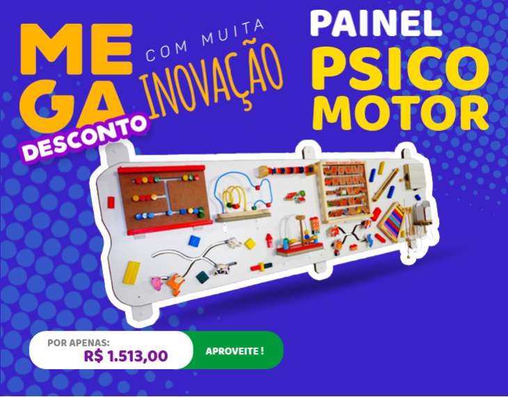 Banner Painel Psicomotor
