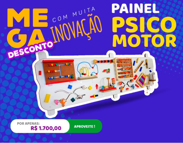 Banner Painel Psicomotor