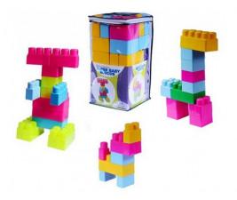 Sacola Criativa Baby Blocos com 25 peças