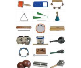 Bandinha Baby com 35 Instrumentos com Bolsa