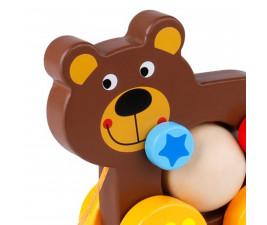 Urso Divertido de Puxar Tooky Toy