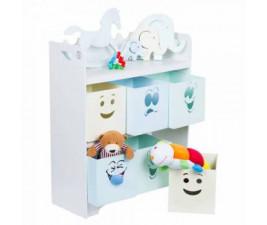 Organizador Quebra Cabeça Carinhas Fashion Toys