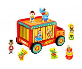 Carrinho Jipe Circo Safari Tooky Toy
