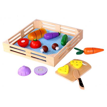 Conjunto Corte de Vegetais na Caixa Tooky Toy