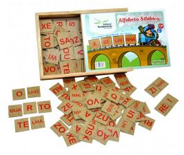 Alfabeto Silábico com 160 peças
