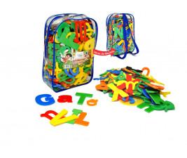 Alfabetotal com 124 peças em EVA