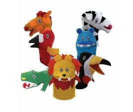 Conjunto Animais Selvagens com 6 peças
