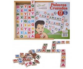 Jogo Palavras Cruzadas com 72 peças