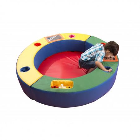 Playground Espumado Espaço Baby com 3 peças
