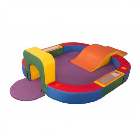 Playground Espumado Espaço Baby com 9 peças